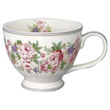 Greengate Große Teetasse Teacup Rose white