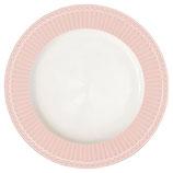 Greengate Dinner Plate großer Speiseteller pink