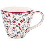 Greengate Mug Henkelbecher Teetasse Helena white