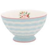 Greengate kleines Schälchen Frenchbowl Medium Nellie pale blue