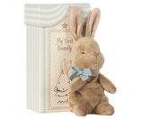 Maileg My first Bunny in Box blau Hasenbaby blau