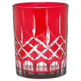 Greengate Windlicht Hurricane Glas Judy Red klein