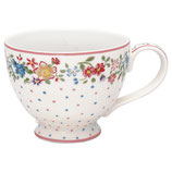 Greengate Große Teetasse Belle white
