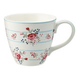 Greengate Mug Henkelbecher Teetasse Fiona Pale Blue