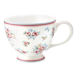 Greengate Große Teetasse Nicoline white