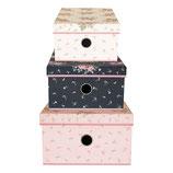 Greengate Storage Box Aufbewahrungsschachteln Marley Pale Pink