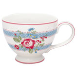 Greengate Große Teetasse Evie white