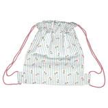 Kindertasche Turnbeutel Lily petit white Rucksack