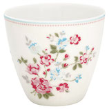 Greengate Latte Cup Sonia white