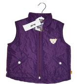 Steiff Steppweste violett