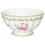Greengate Schälchen Frenchbowl Large Lily petit white