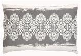 Kissenbezug Lace Warm Grey 40 x 60 cm