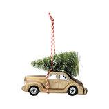 Greengate Weihnachtsanhänger Nicoline smoke Car Auto
