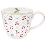 Greengate Mug Henkelbecher Teetasse Cherie white