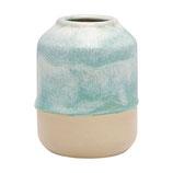 Greengate kleine Vase Amanda Mint Natur