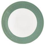 Greengate Plate Frühstücksteller dusty green