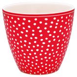Greengate Latte Dot Red