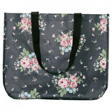 Greengate Marley dark grey Tasche Shopper aus Plane