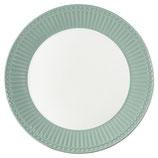 Greengate Plate Frühstücksteller dusty mint
