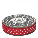 Greengate Ribbon Webband Dots Red