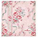 Greengate Brotkorbdeckchen Serviette Betty Pale Pink