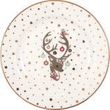 Greengate Frühstücksteller Plate Dina white