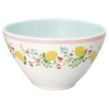Grengate Melamin Müslischälchen Cereal Bowl Limona white
