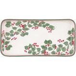 Greengate Tray Mini-Tablett Servierplatte Scarlett white