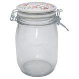 Greengate Vorratsglas 1 Liter Clementine white