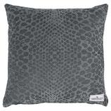 Kissenbezug Samt Velvet Alli warm grey 50 x 50 cm