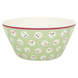 Grengate Schälchen Bowl large Cherry Berry pale green Bamboo