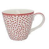 Greengate Mug Henkelbecher Teetasse Dot white