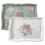 Greengate Tablett Josephine mint 2er Set