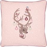 Kissenbezug Dina pale pink 40 x 40 cm