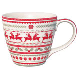 Greengate Mug Henkelbecher Teetasse Ivy white