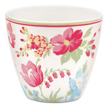 Greengate Latte Cup Donna White