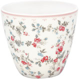 Greengate Latte Cup Carly white