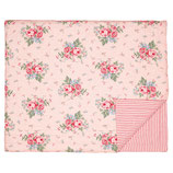 Tagesdecke Quilt Marley Pale Pink 180 x 230 cm gesteppt