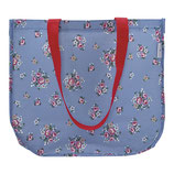 Greengate Nicoline dusty blue Tasche Shopper aus Plane