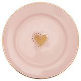 Greengate Kleiner Teller Penny Gold small Plate
