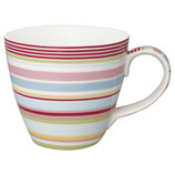 Greengate Mug Henkelbecher Teetasse Pipa Multicolor