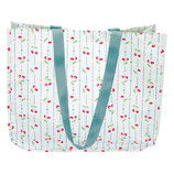 Greengate Cherry white Tasche Shopper aus Plane