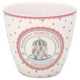 Greengate Latte Cup Tenna white
