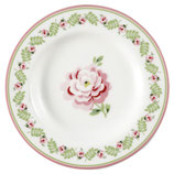Greengate Kleiner Teller Lily petit white small Plate
