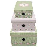 Greengate Storage Box Aufbewahrungsschachteln Mary white