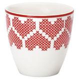 Greengate Mini Latte Cup December Red