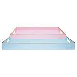Greengate Tablett Pale blue Gold 2er Set
