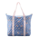 Greengate Großer Shopper Bag Reisetasche Nicoline Dusty Blue