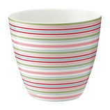 Greengate Latte Cup Silvia Stripe white