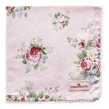 Greengate Brotkorbdeckchen Serviette Aurelia pale pink